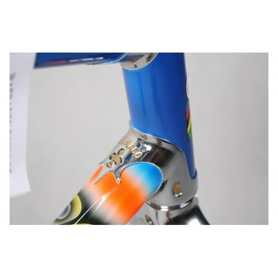 Colnago Master X-Light MAPEI acél országúti kerékpár váz, vázszett