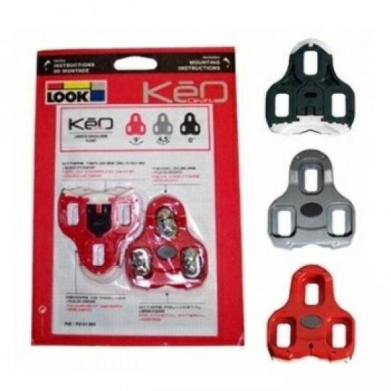 Look KEO Cleat stopli fekete / szürke / piros