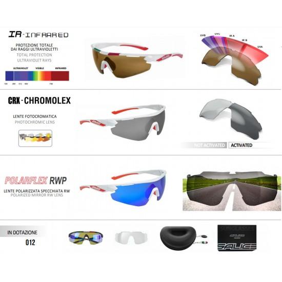 SALICE 012 ITACRX fotokromatikus (fényre sötétedő) napszemüveg