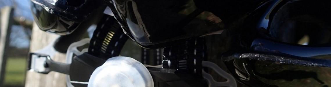 SALICE kerékpáros sisakok beépített villogó fénnyel - a biztonságodért!