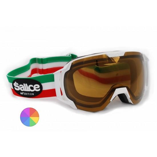 SALICE 619 ITATECHED fotokromatikus polarizált síszemüveg