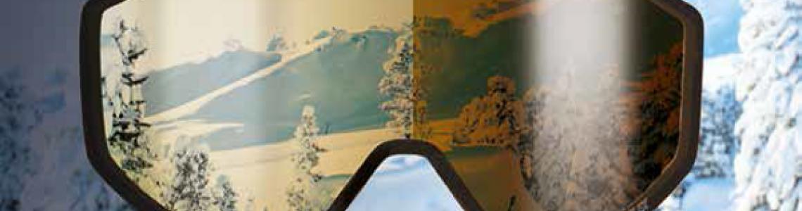 TECH fotokromatikus és polarizált lencsés síszemüvegek